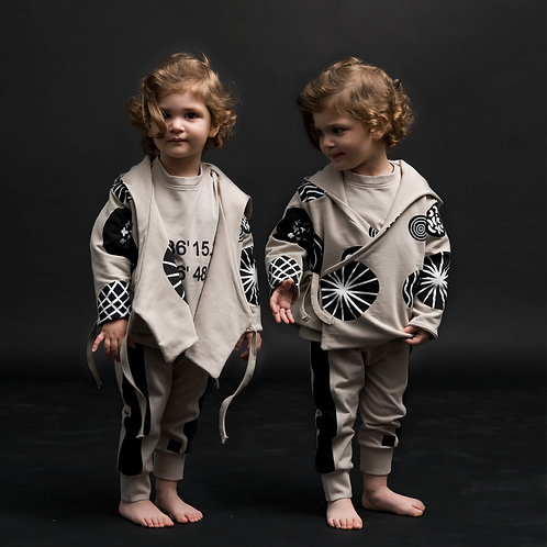 Doppelseitiges Sweatshirt