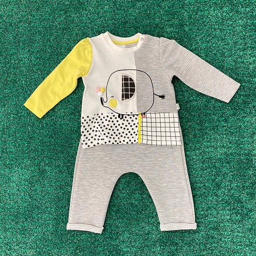 Pyjama Set - yellow Elephant