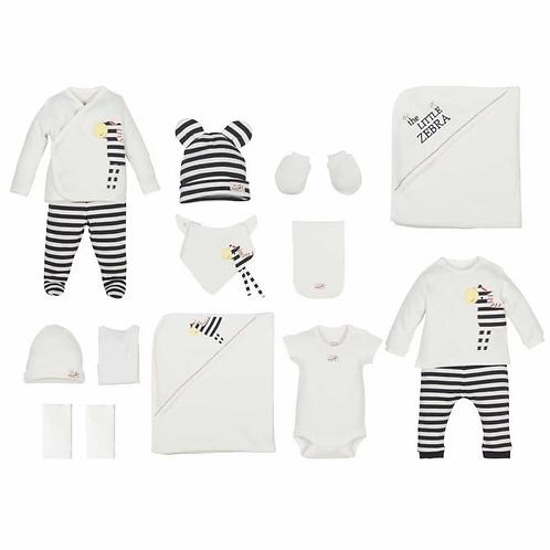 15 Teilig - Neugeborene Set - Zebra