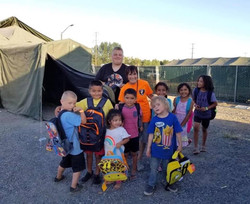 The kids of Camp Hope
