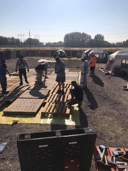 Building the subfloor