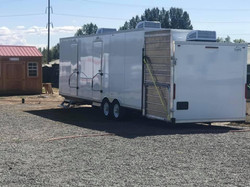 Our bathroom trailer