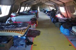 7.12.18- Dormitory Tent - Camp Hope