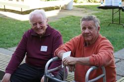 Board Member Ron Sanders & guest