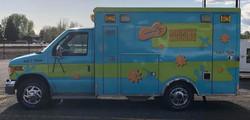 Our outreach ambulance