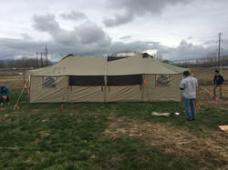 First tents