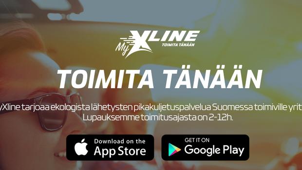 Joukkoistettu MyXline pikakuljetuspalvelu lanseerattu!