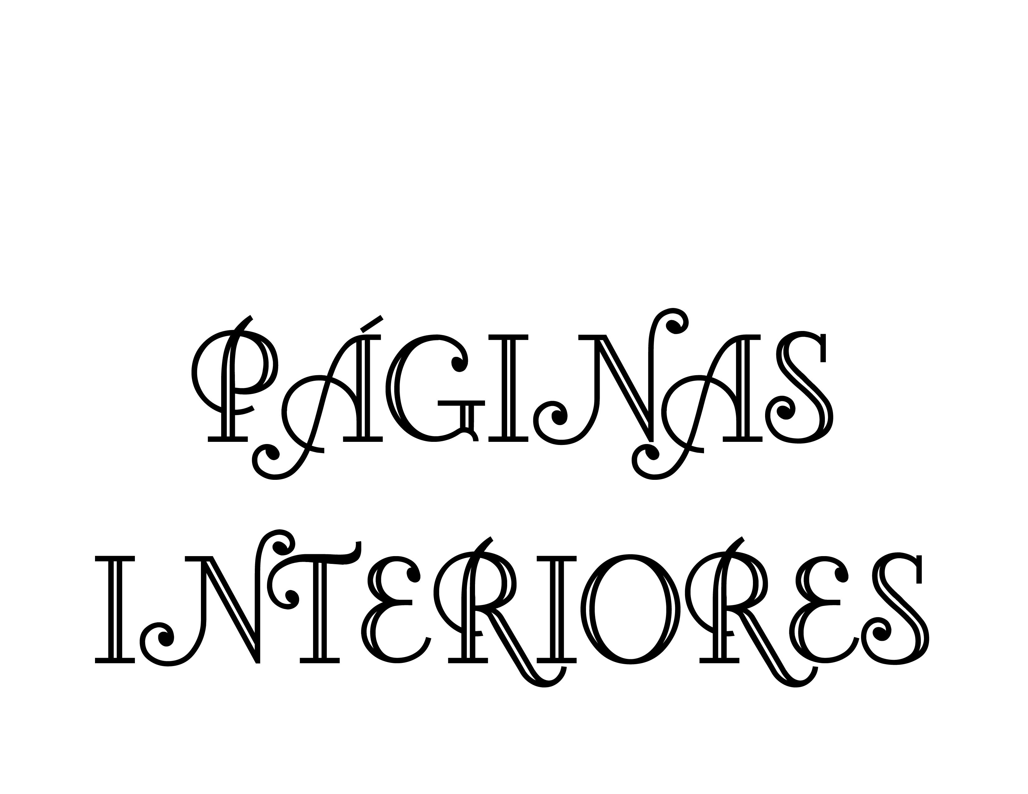 PAGINAS INTERIORES