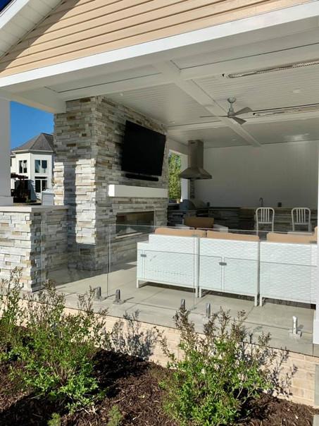 Contemporary Terrace Addition