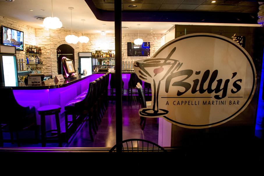 Billy's Martini Bar