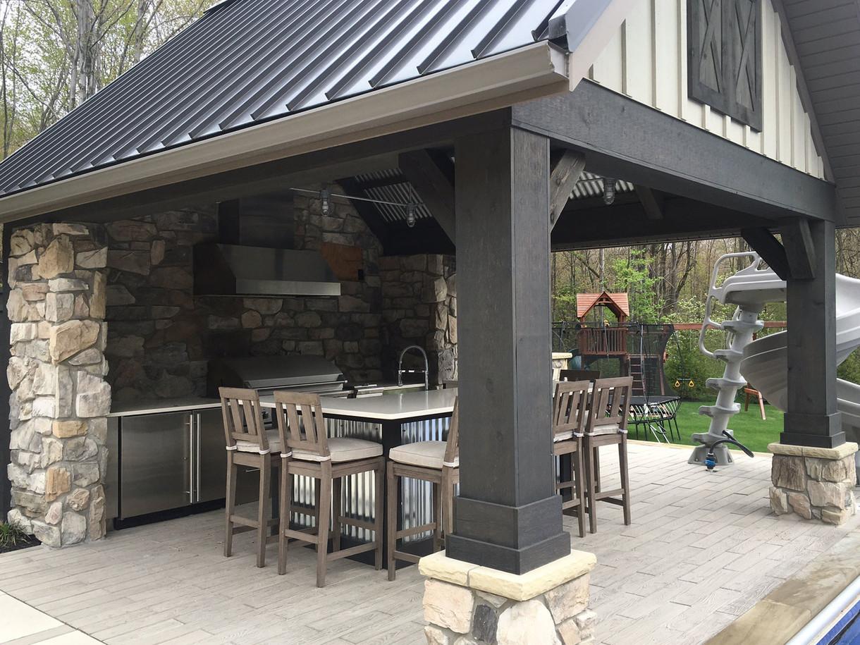 Poolside Pavilion