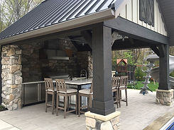 Outdoor Living: Poolside Pavilion