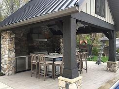 Outdoor Living: Poolside Pavilion