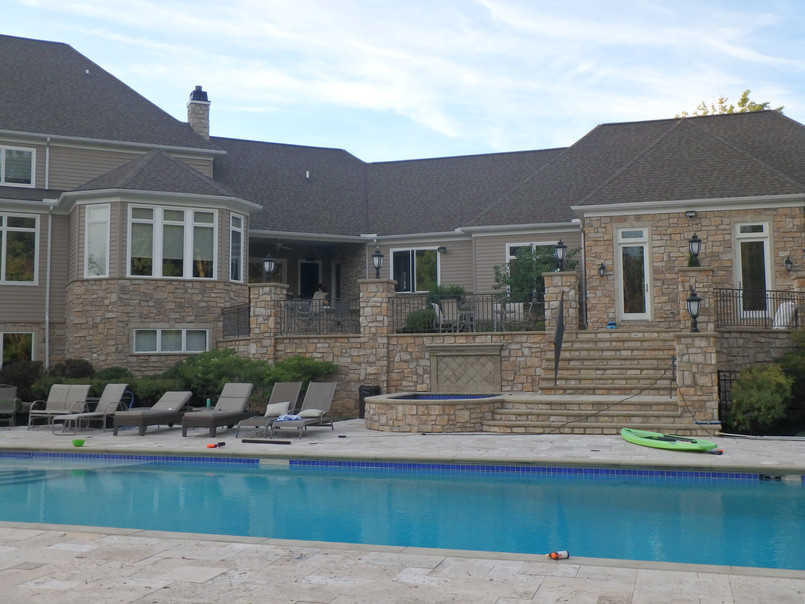 Elegant Living with a Pool