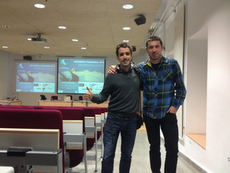 Our first talk at the University of the Basque Country