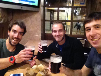 The team reunites in Bilbao!!