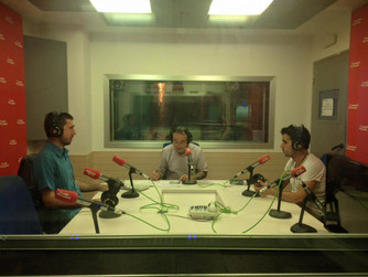 We have done some radio interviews in the last few weeks...