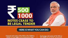 インド首相、高額紙幣の即時廃止を発表