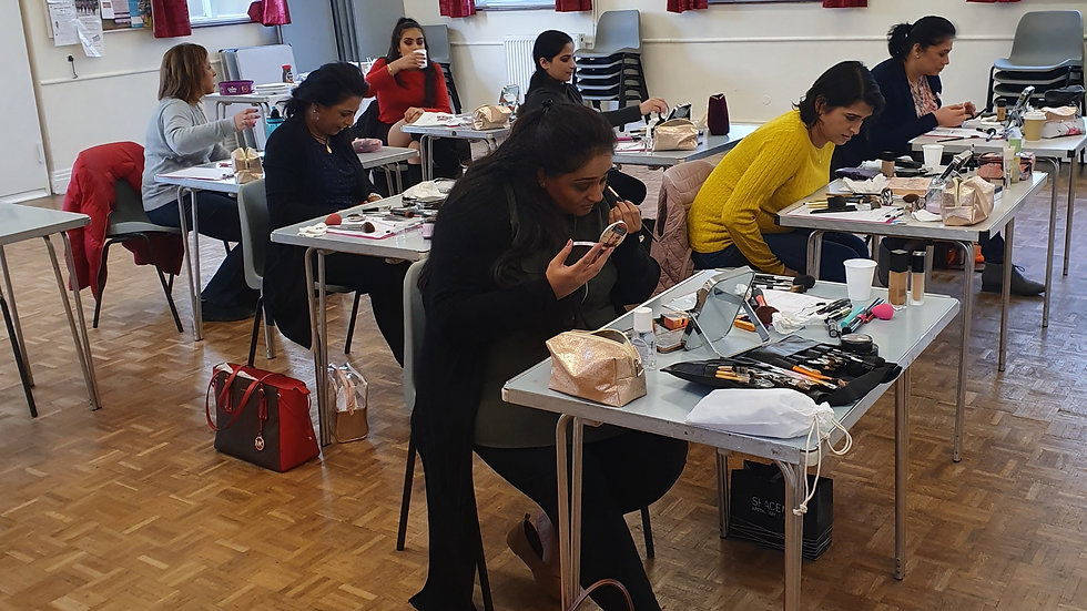 Natural Makeup Practical Class - 17th October 2020