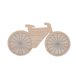 Plaquinha Bicicleta
