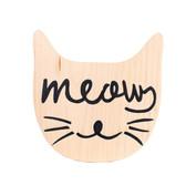 Plaquinha Meow