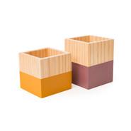 Potinho de madeira
