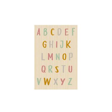 Plaquinha Alfabeto