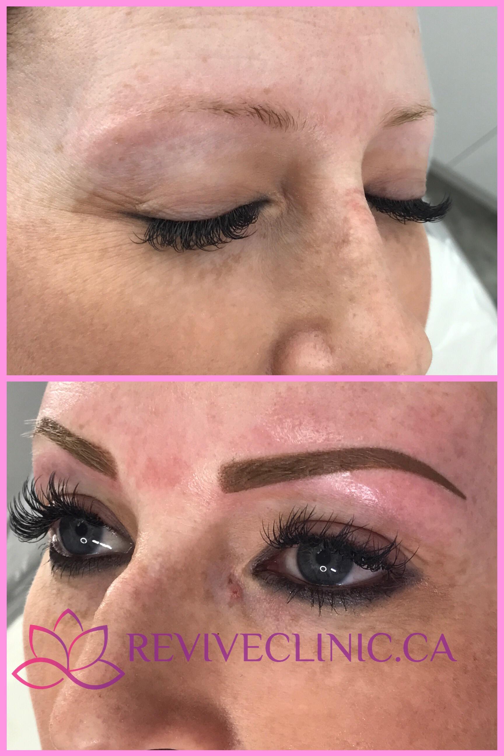 Powder brows