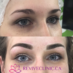 Thicker powder brows