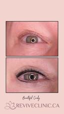 Soft upper eyeliner and lower enhancement