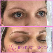 Combination eyebrow