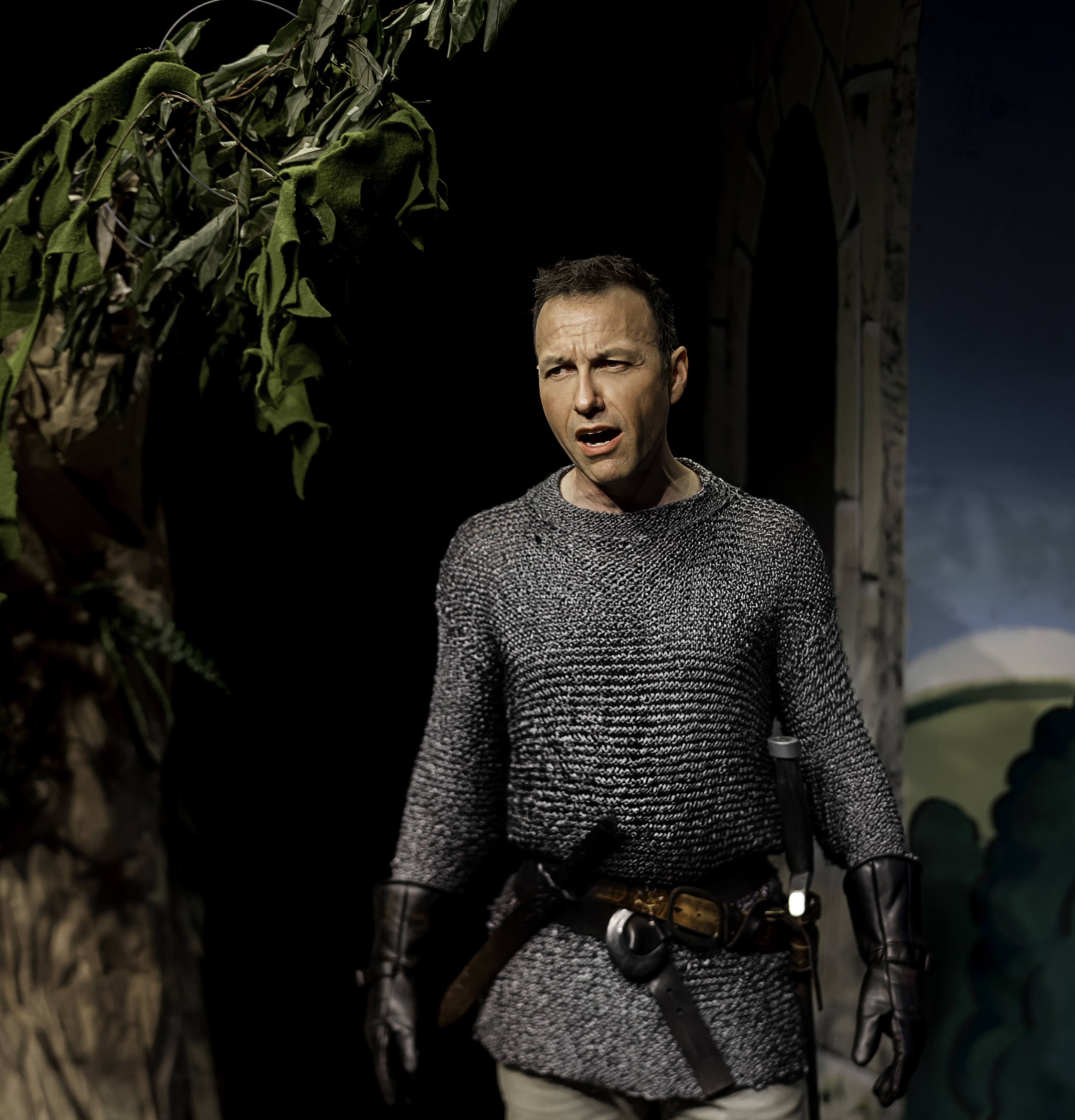 Carlos as Lancelot in Camelot