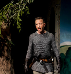 Carlos as Lancelot in Camelot