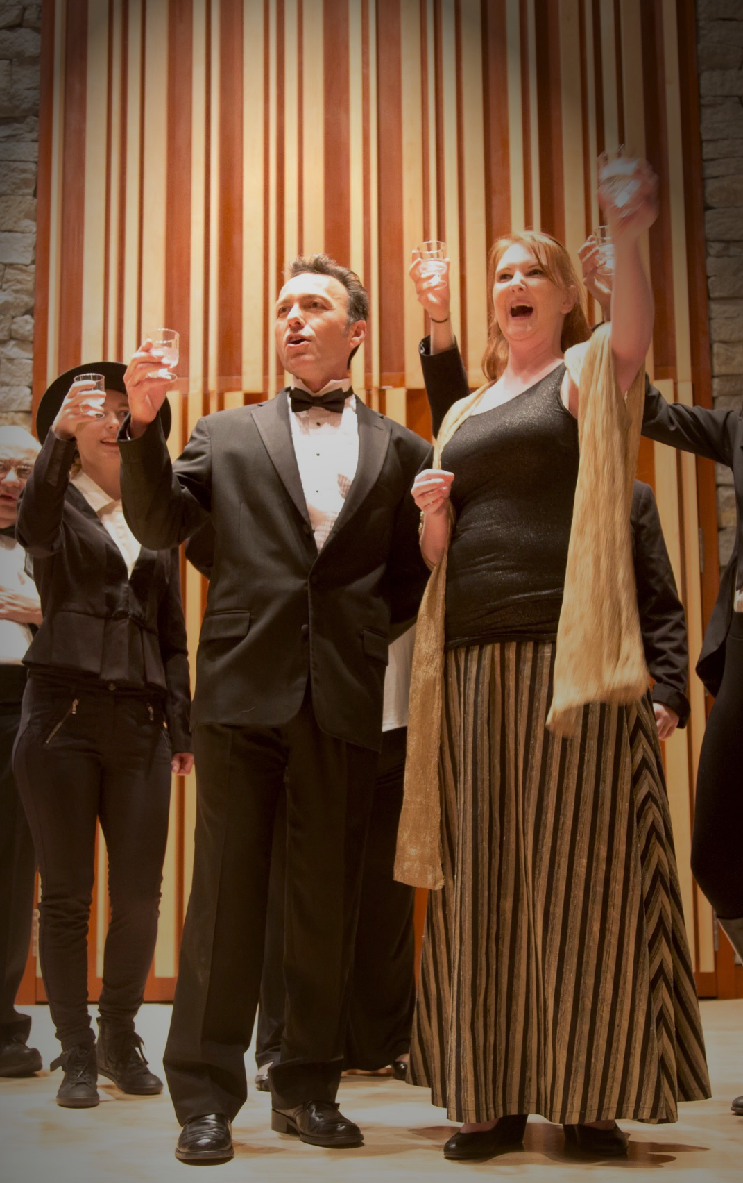 Carlos in the Opera Ensemble