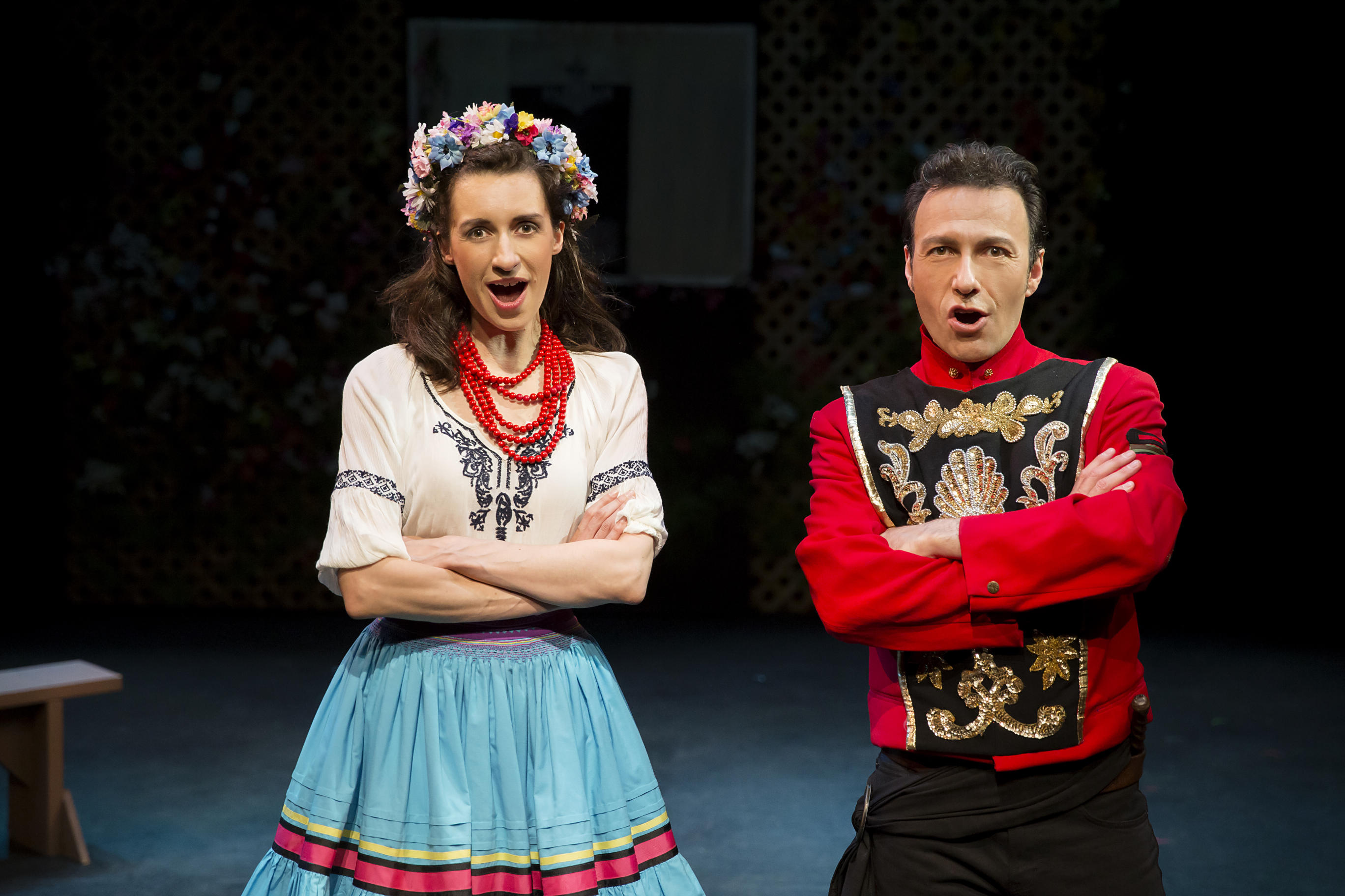 Danilo and Hanna in The Merry Widow