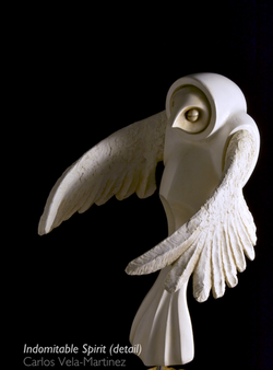 Indomitable Spirit - Sculpture