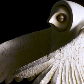 Branca's Gift - sculpture by Carlos Vela-Martinez