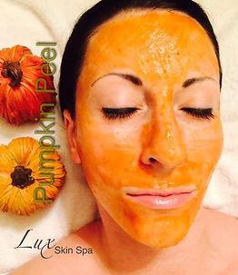 Pumpkin peel facial, Lux Skin Spa, Cedar Park TX
