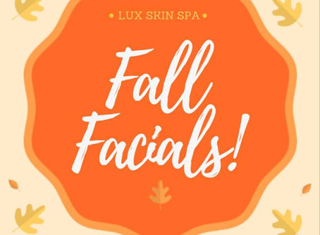 Orange Zest Fall Facial!