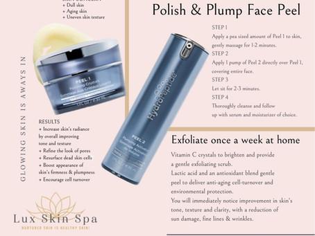 Exfoliate Dead Skin! Polish & Plump