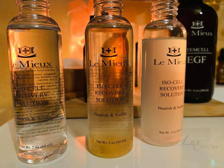 ISO Cell Custom Blends  at Lux Skin Spa.