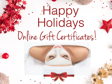 Lux Skin Spa has eGift Cards available!
