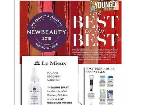 Best of the Best Skin Care 2019