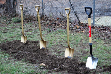 SRMBC Groundbreaking Shovels