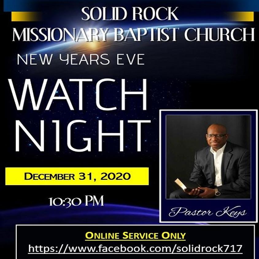 SRMBC Watchnight Service (Online Service Only)