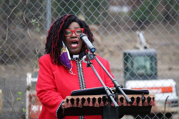 Rev. Dr. Felicia Brown-Hatwoood, SRMBC