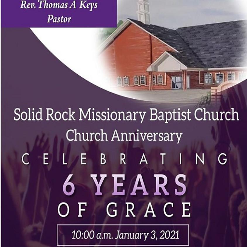 SRMBC 6th Church Anniversary (In-Person & Online Service)