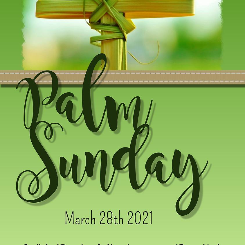 SRMBC Palm Sunday Service (In-Person & Online)