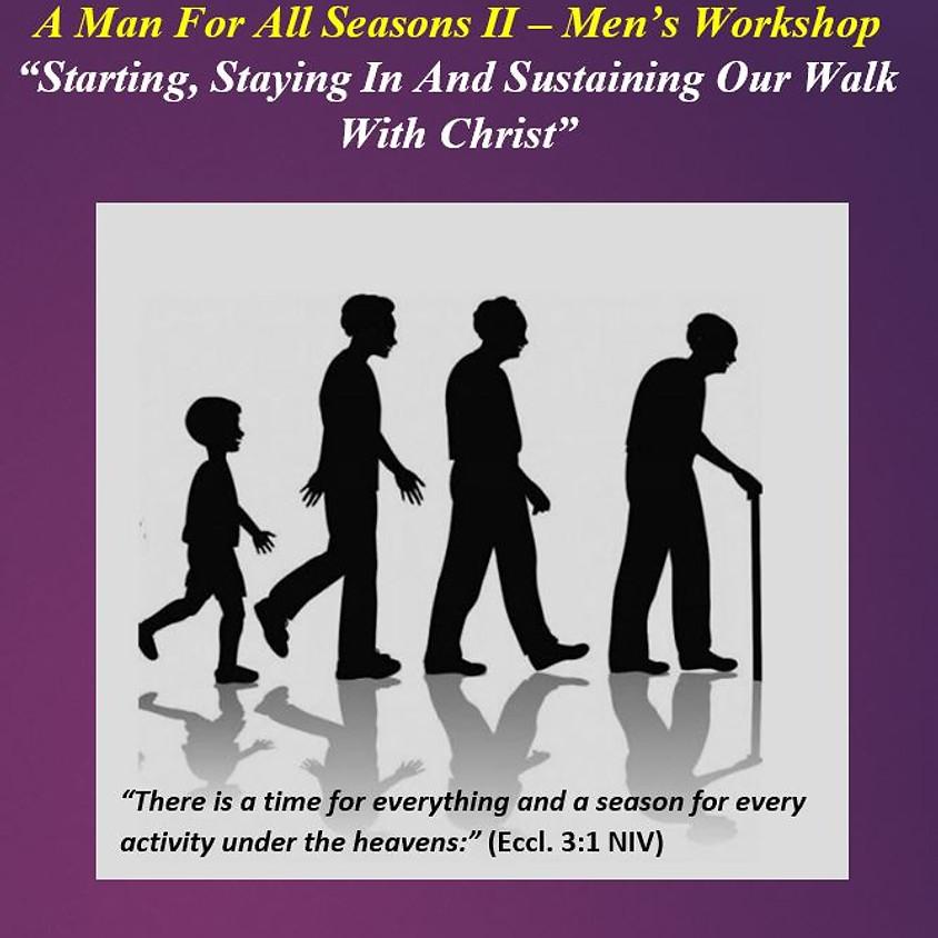 SRMBC Men's Online  Workshop A Man For All Seasons II