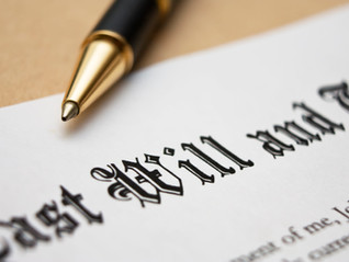 The Importance of a Will